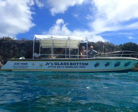 Junior's Glass Bottom Boat
